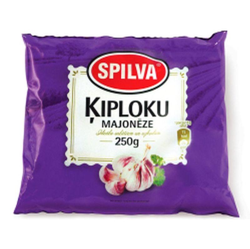 Spilva majonēze ķiploku 250g  0.75